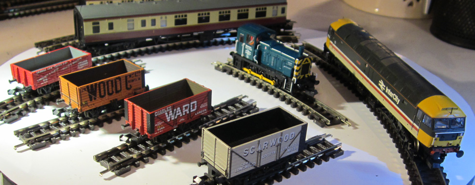 Wickness DCC Sound, DCC Fitted and DCC Ready Locomotives - click above for more....