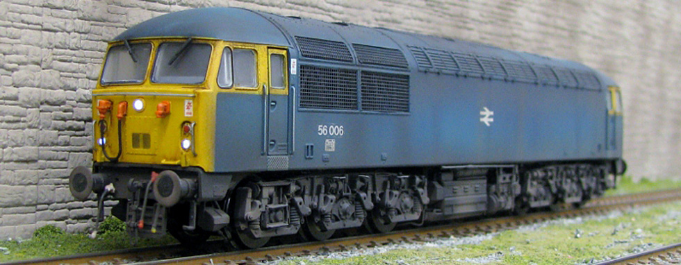 We can provide a weathering service for any loco - click above for more....