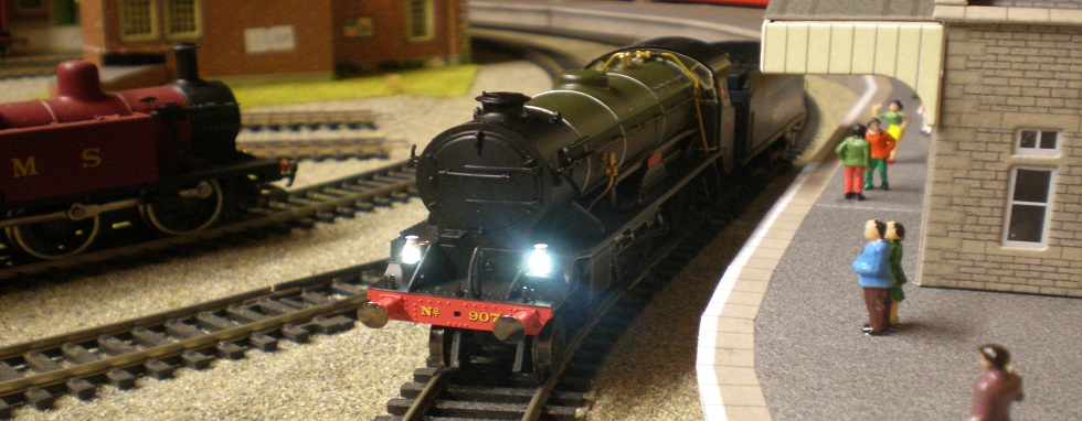 Wickness DCC Sound Fitted N gauge Steam Locomotives - click above for more....